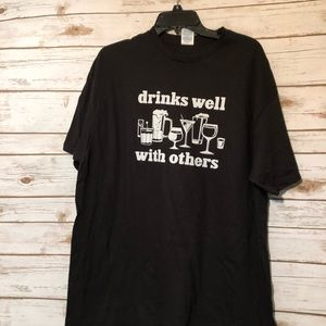 Other - Men's Black Graphic T-shirt